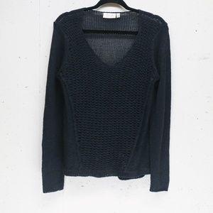 Stitch Fix RD Style open knit v neck sweater M